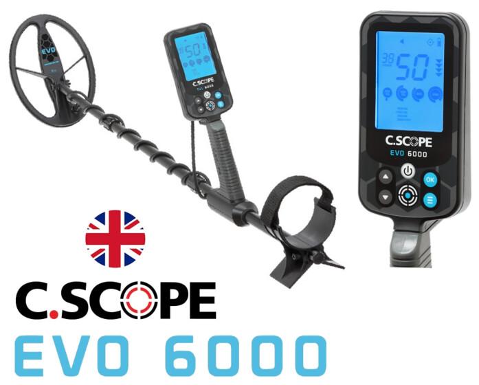 C.Scope EVO 6000 met draadloze hoofdtelefoon