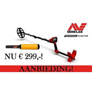 Minelab VANQUISH 340 met PRO-FIND 15 pinpointer