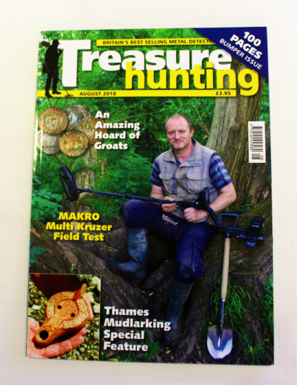 Treasure Hunting magazine augustus 2018