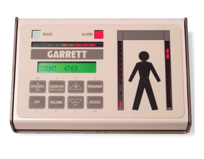 Desktop afstandsbediening met zones t.b.v. GARRETT detectiepoorten