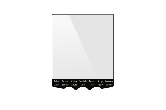 Minelab screenprotector t.b.v. EQUINOX-serie