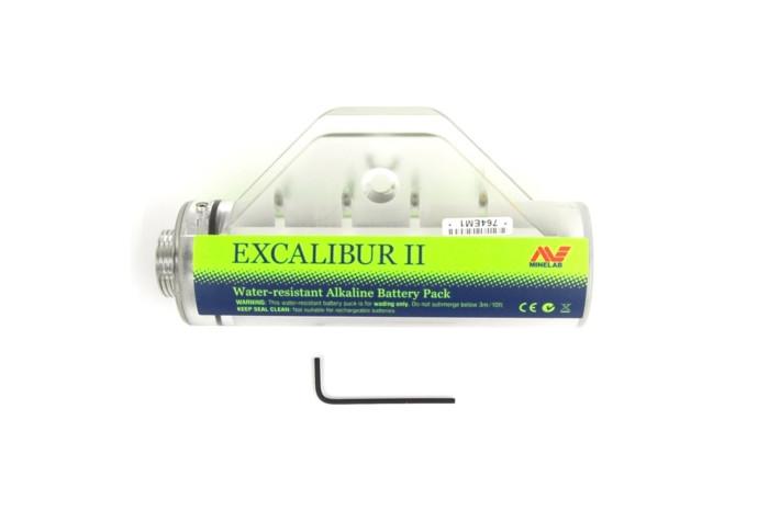 Minelab batterijhouder t.b.v. Excalibur