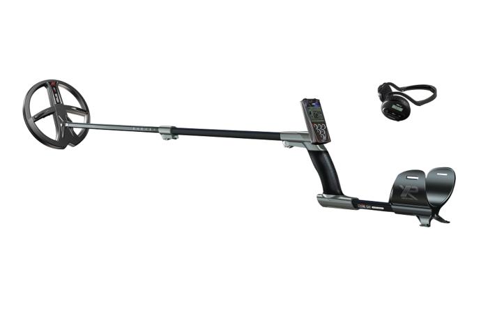 XP DĒUS X35 met 22,5cm schijf, bedieningsunit en WS4 hoofdtelefoon