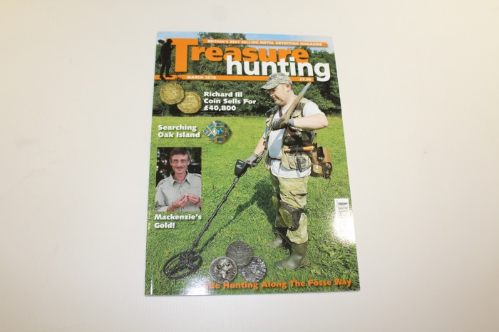 Treasure Hunting magazine maart 2018