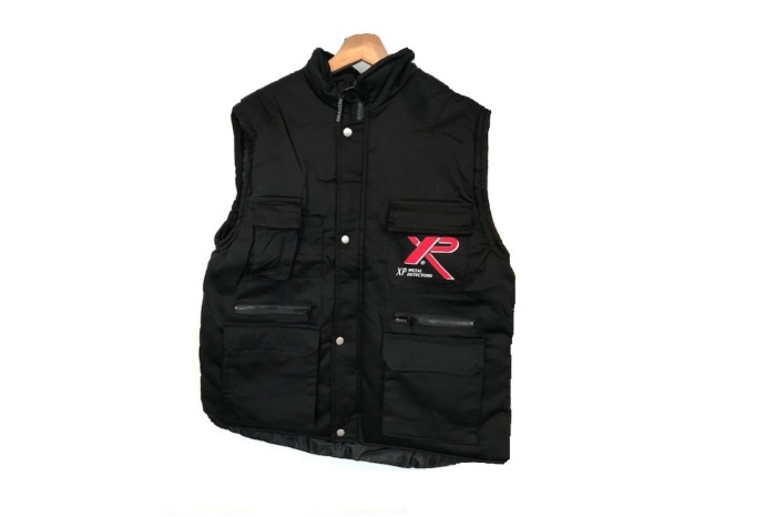 XP bodywarmer zwart of camo