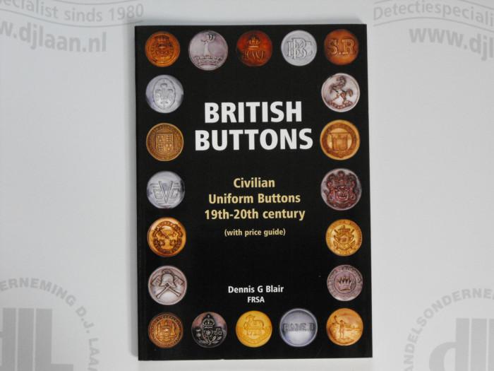 Britisch Buttons 19-20e eeuw by Dennis G. Blair