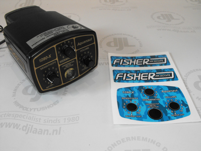 Anderson stickerset camouflagelook t.b.v. Fisher 1280-X