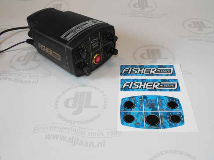 Anderson stickerset camouflagelook t.b.v. Fisher CZ-21