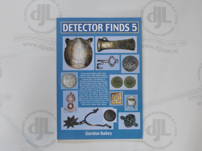 Detector Finds nr. 5 by Gordon Bailey
