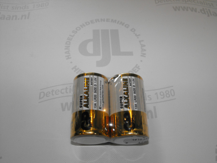 GP Super Alkaline D 1,5V