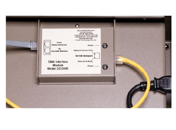 Control Monitor Analyzer (CMA™) t.b.v. GARRETT detectiepoorten