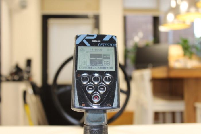 Occasion XP DEUS met bedieningsunit, WS4 hoofdtelefoon en 28 cm zoekschijf