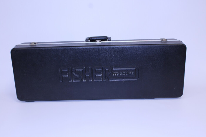 Occasion Fisher metaaldetector koffer