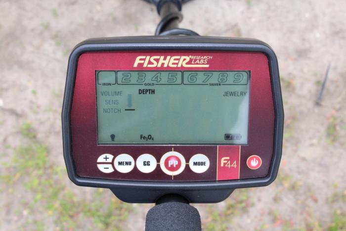 Fisher F44 met accessoirepakket