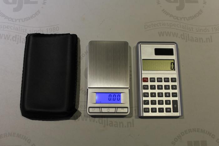 Digitale weegschaal: 0,00 tot 100 gram
