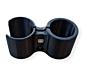 Steelbevestiging t.b.v. pinpointer EQUINOX 600/800